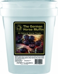 German Horse Muffins, 14lb Bucket - FREE SHIPPING