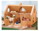 Breyer Barns and Accessories