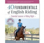 40 Fundamentals of English Riding Book by Hollie H. McNeil