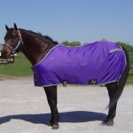 420D Nylon Open Front Horse Sheet - Purple