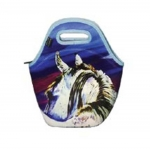 ART of RIDING Lunch Tote - Rear View Horse Design