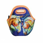 ART of RIDING Lunch Tote - Twin Horse Design