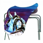 ART of RIDING Saddle Cover - Rear View Horse Design