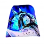 ART of RIDING Stirrup Bags - Rear View Horse Design