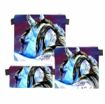 ART of RIDING Trio Bags - Rear View Horse Design