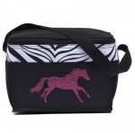 AWST Running Horse Print Insulated Lunch Tote