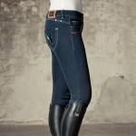 B-Vertigo B Vertigo Jill Women's Denim Self Seat Breeches
