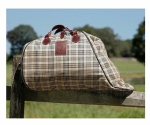 Baker Saddle Carrier Baker Plaid