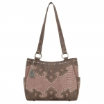 Bandana Salinas 3 Compartment Tote - Soft Rose