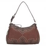 Bandana Salinas Zip Top Shoulder Bag - Rich Clay