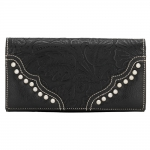 Bandana San Marcos Flap Wallet - Stallion Black
