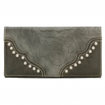Bandana San Marcos Flap Wallet - Wood Smoke