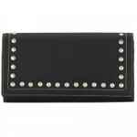Bandana Signature Flap Wallet - Black