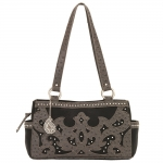 Bandana Sugarland 3 Compartment Tote - Black