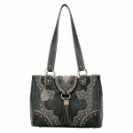 Bandana Topeka 3 Compartment Tote - Cool Black