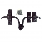 Barn Door Latch - Black