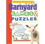 Barnyard Games & Puzzles Book by Helene Hovanec & Patrick Merrell