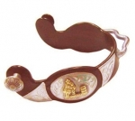 Barrel Racer Antique Brown Ladies Bumper Spur