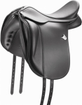 Bates Wide Dressage Saddle Flocked