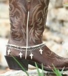 Boot Candy Naturals Crosses Boot Accessories
