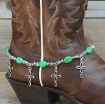 Boot Candy Ovals and Crosses Boot Accessories Bracelet