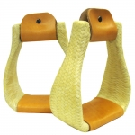 Braided Rawhide Roping Stirrup