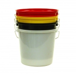 CALF HUTCH PAIL 5QT WHITE
