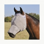 Cashel Cool Fly Mask Long Nose - No Ears - Arab