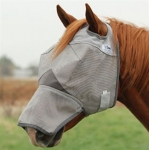 Cashel Crusader Cool Fly Mask Long Nose NO Ears