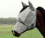 Cashel Crusader Cool Fly Mask Long Nose with Ears