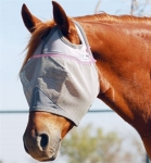Cashel Crusader Cool Fly Mask Standard with Pink Trim