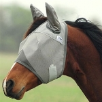 Cashel Crusader Cool Fly Mask Standard with Ears