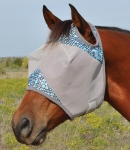 Cashel Patterned Standard Fly Mask NO Ears