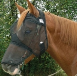 Cashel Quiet Ride Fly Mask Long Nose NO Ears