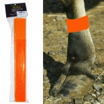 Cattle Leg Bands - Neon Orange