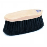 Champion Horse Grooming Flick Brush - Plastic Back - Black