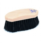 Champion Horsehair Blend Dandy Horse Grooming Brush - Plastic Back