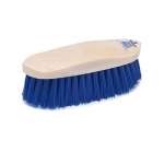 Champion Navy Poly Dandy Horse Grooming Brush - Plastic Back
