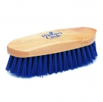 Champion Navy Poly Stiff Dandy Horse Grooming Brush