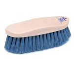 Champion Slate Poly Dandy Horse Grooming Brush - Plastic Back