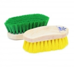 Champion Small Dandy Horse Grooming Brush - Plastic Back - Assorted