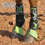 Classic Equine Legacy System Boots FRONT