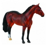 CollectA Model Horse - Bay Hanoverian Stallion