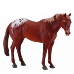 CollectA Model Horse - Chestnut Appaloosa Stallion