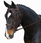 COLLEGIATE COMFORT CROWN ULTRA RAISED PADDED BRIDLE