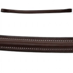 "Collegiate Replacement Plain Raised Browband 5/8"""" Full"