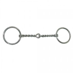 Coronet Loose Ring Twisted Wire Ring Snaffle Stainless Steel Bit