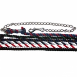 "Cotton 1/2"" Lead w/24"" Chain - Assorted"