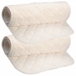 Cotton Quilted Leg Wraps Set of 4