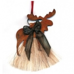 Cowboy Collectibles Horse Hair Moose Ornaments